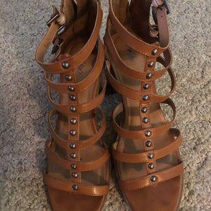 Boho Sandal with heel